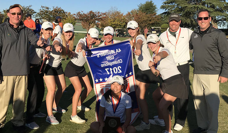 Women's Golf Reclaims 4A State Title